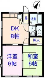 207号室(間取)