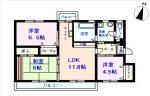 302号室(間取)