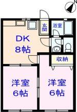 206号室(間取)